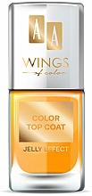 Парфюмерия и Козметика Топ лак - AA Wings of Color Color Top Coat