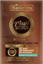 Парфюми, Парфюмерия, козметика Бронзиращи кърпички за тяло - Bielenda Magic Bronze