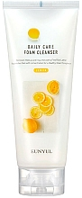 Парфюмерия и Козметика Почистваща пяна за лице с екстракт от лимон - Eunyul Daily Care Lemon Foam Cleanser