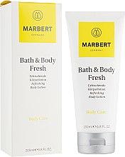 Парфюмерия и Козметика Подхранващ и освежаващ лосион за тяло с цитрусов аромат - Marbert Bath & Body Fresh Refreshing Body Lotion