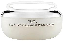 Парфюмерия и Козметика Прозрачна насипна пудра за лице - Pur Translucent Loose Setting Powder