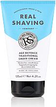 Парфюмерия и Козметика Традиционен крем за бръснене - The Real Shaving Co. Age Defence Traditional Shave Cream