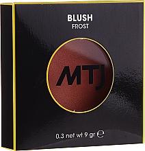 Парфюмерия и Козметика Руж - MTJ Cosmetics Frost Blush