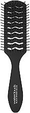 Парфюмерия и Козметика Четка за коса - Waterclouds Black Brush No.22