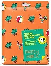 Парфюмерия и Козметика Пачове за лице и тяло с екстракт от кактус - Patch Holic Sticker Soothing Patch Vacation