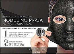 Парфюмерия и Козметика Гел-маска за лице с активен въглен - Voesh Facial Modeling Mask Activated Charcoal