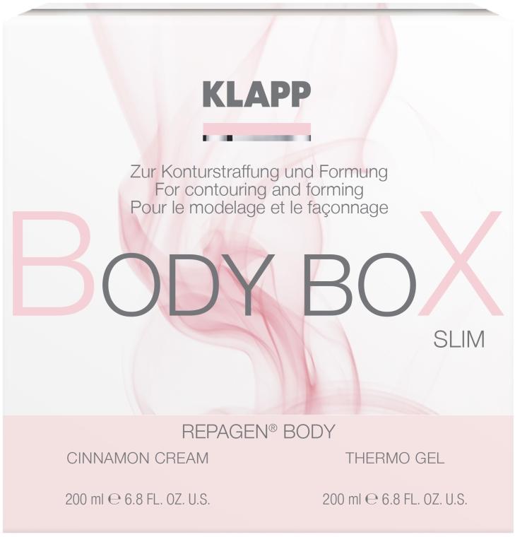 Моделиращ комплект за тяло - Klapp Repagen Body Box Shape (cr/200ml+b/gel/200ml) — снимка N1