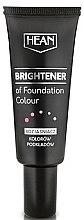 Парфюмерия и Козметика Изсветляваща основа за грим - Hean Brightener of Foundation Colour