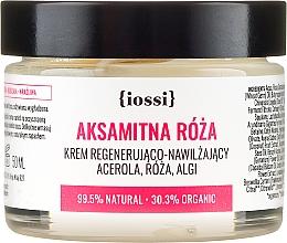 """Парфюмерия и Козметика Възстановяващ крем за лице """"Кадифена роза"""" - Iossi Regenerating Cream"""