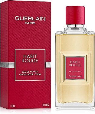 Guerlain Habit Rouge - Парфюмна вода — снимка N1