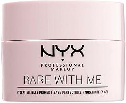 Парфюмерия и Козметика Хидратираща основа за грим - NYX Professional Makeup Bare With Me Hydrating Jelly Primer