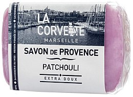 """Парфюми, Парфюмерия, козметика Провансалски сапун """"Пачули"""" - La Corvette Provence Soap Patchouli"""