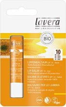 Парфюми, Парфюмерия, козметика Балсам за устни - Lavera Sun Lip Balm SPF 10