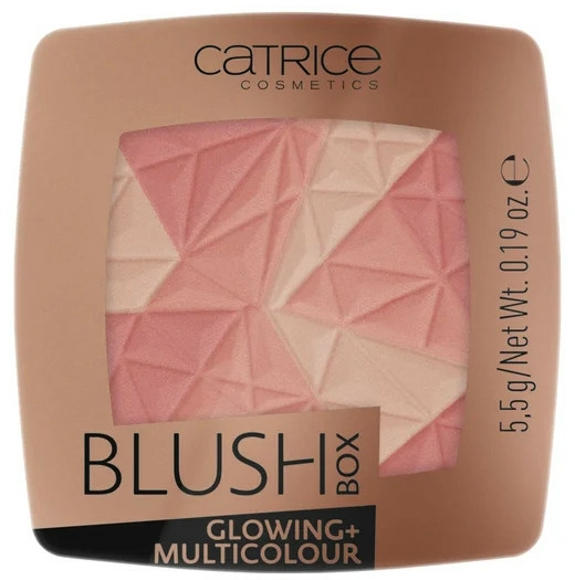 Руж за лице - Catrice Blush Box Glowing + Multicolour