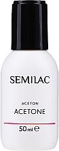 Парфюмерия и Козметика Козметичен ацетон - Semilac Acetone