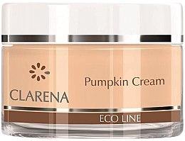 Парфюми, Парфюмерия, козметика Лек овлажняващ крем с натурален екстракт от тиква - Clarena Eco Line Pumpkin Cream