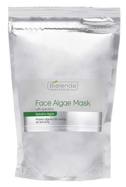 Алгинатна маска за лице със спирулина - Bielenda Professional Algae Spirulina Face Mask (пълнител)