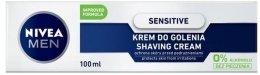 Крем за бръснене за чувствителна кожа - Nivea For Men Active Comfort System Shaving Cream — снимка N2