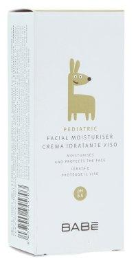 Детски овлажняващ крем за лице - Babe Laboratorios Facial Moisturiser — снимка N1
