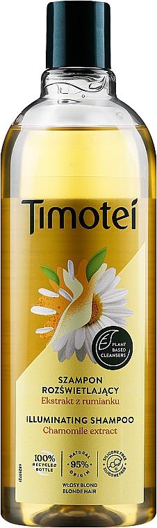 Шампоан и балсам 2 в 1 за светла коса с екстракт от лайка - Timotei Golden Highlights Shampoo