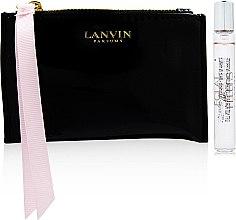 Парфюми, Парфюмерия, козметика Lanvin Eclat de Fleurs - Комплект (парф. вода/7.5ml+козм. чанта)