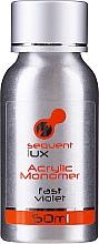 Парфюмерия и Козметика Течност за акрил - Silcare Sequent Lux Acrylic Monomer Fast Violet