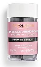 Парфюмерия и Козметика Почистваща пудра за лице - Revolution Skincare Purifying Charcoal Cleansing Powder