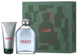 Парфюми, Парфюмерия, козметика Hugo Boss Hugo Men - Комплект (тоал. вода/200ml + душ гел/100ml)