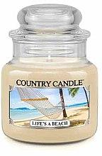 Парфюми, Парфюмерия, козметика Ароматна свещ в бурканче - Country Candle Life's A Beach