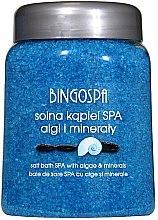 Парфюмерия и Козметика Соли за вана с морски водорасли и минерали - BingoSpa Bath Salt With Algae And Minerals