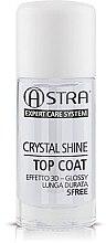 Парфюмерия и Козметика Топ лак - Astra Make-up Crystal Shine Top Coat