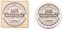 Парфюми, Парфюмерия, козметика Восък за мустаци - Macho Beard Company Hard Natural Mustache Wax