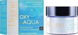 Парфюмерия и Козметика Нощен крем за лице с кислороден комплекс - Lirene Dermo Program Oxy In Aqua
