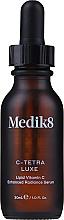 Парфюмерия и Козметика Интензивен серум за лице с витамин С и антиоксиданти - Medik8 C-Tetra Luxe Lipid Vitamin C Enhanced Radiance Serum