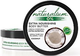 Парфюмерия и Козметика Масло за тяло - Naturalium Coconut Extra Nourishing Body Butter