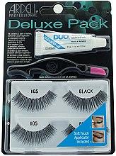 Парфюми, Парфюмерия, козметика Комплект изкуствени мигли - Ardell Deluxe Twin Pack Lashes #105 With Applicator