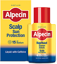 Парфюми, Парфюмерия, козметика Слънцезащитен масло-серум за скалпа - Alpecin Scalp Sun Protection SPF15