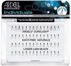 Парфюмерия и Козметика Мигли на снопчета - Ardell Eyelash Knot Free Lower Lash Individuals Black