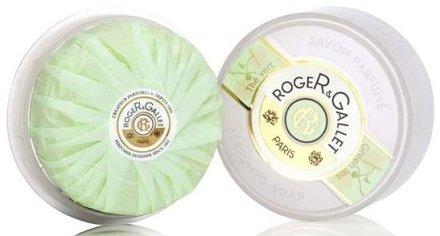 "Парфюмен сапун ""Зелен чай"" - Roger & Gallet The Vert Perfumed Soap — снимка N1"