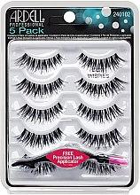 Парфюми, Парфюмерия, козметика Комплект изкуствени мигли - Ardell 5 Pack Demi Wispies Black (10бр)