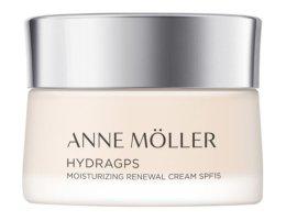 Парфюми, Парфюмерия, козметика Овлажняващ крем за лице - Anne Moller HydraGPS Moisturizing Renewal Cream SPF15