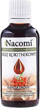 Масло от облепиха за лице и коса - Nacomi Oil Seed Oil Beauty Essence — снимка N1