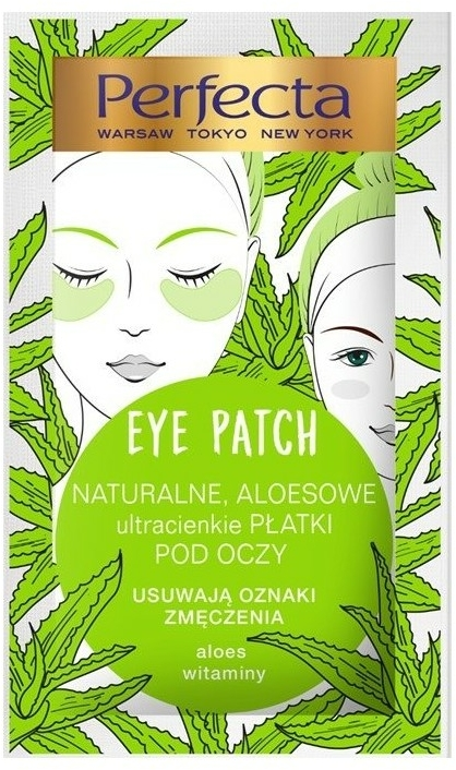 Пачове за очи - Perfecta Eye Patch Aloe & Vitamins