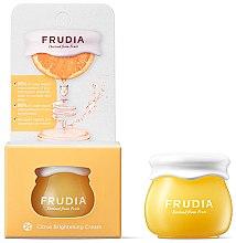 Парфюмерия и Козметика Изсветляващ крем за лице - Frudia Brightening Citrus Cream (мини)