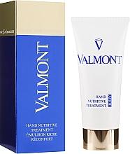 Парфюмерия и Козметика Подхранващ и възстановяващ крем за ръце - Valmont Hand Nutritive Treatment