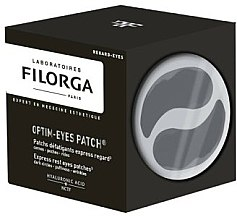 Парфюмерия и Козметика Пачове за околоочен контур против умора - Filorga Optim-Eyes Patches