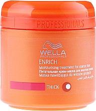 Овлажняваща маска за плътна коса - Wella Professionals Enrich Moisturizing Treatment — снимка N1