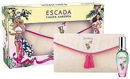 Парфюмерия и Козметика Escada Fiesta Carioca - Комплект (edt/30ml + cosmetics bag)