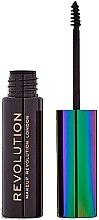 Парфюмерия и Козметика Гел за вежди - Makeup Revolution Brow Mascara With Cannabis Sativa