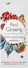 Парфюми, Парфюмерия, козметика Околоочен крем против бръчки с червен женшен - Bielenda Red Ginseng